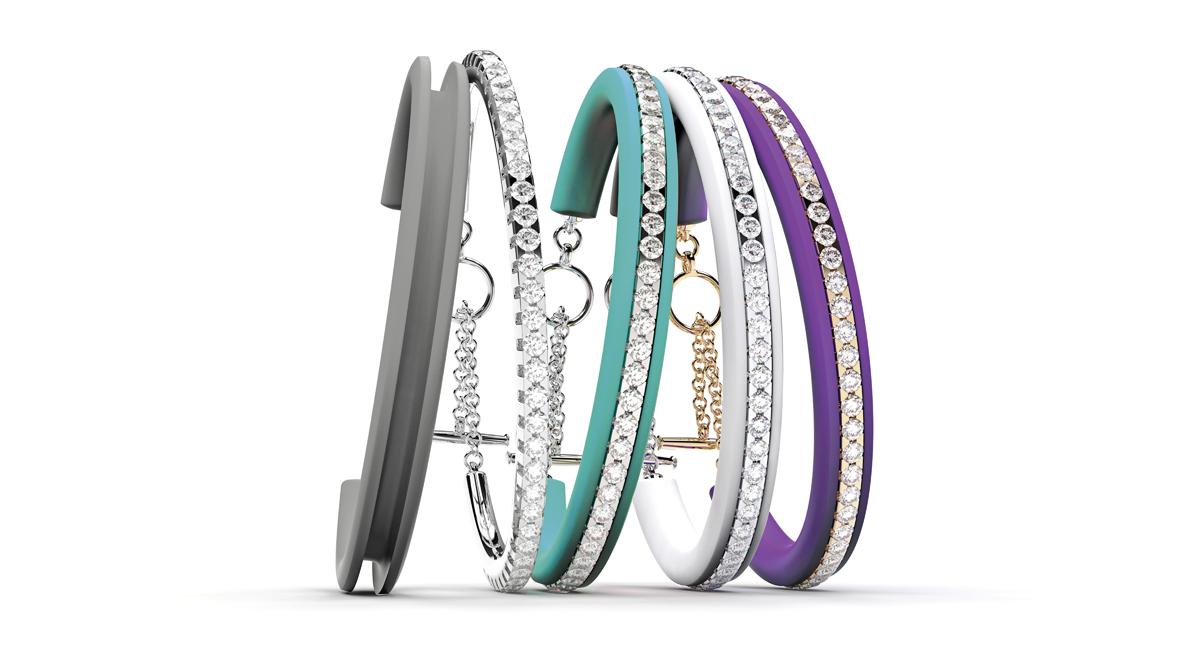 Bracelet Brillantarmband, Diamond Bracelet
