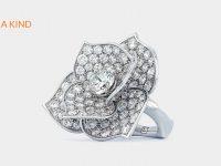 Johannes Hundt, Cocktail-Ring, Rose, Diamanten